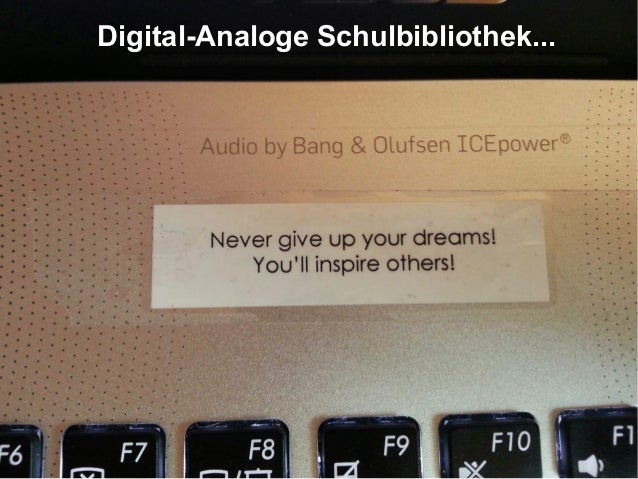 Digital-Analoge Schulbibliothek...
