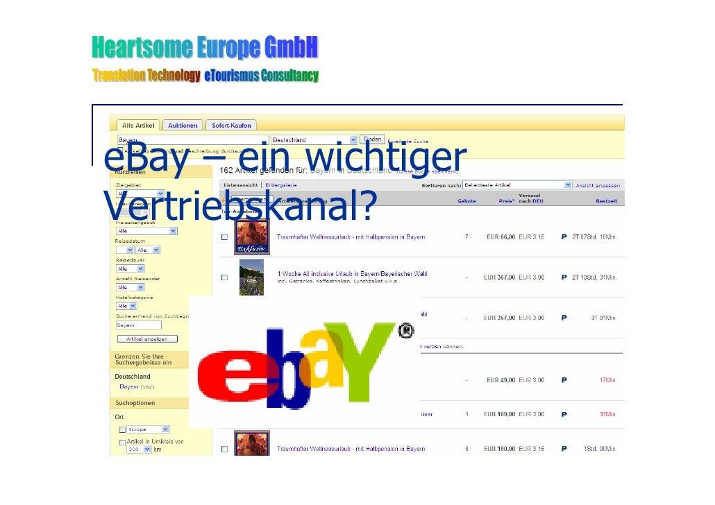 eBay – ein wichtiger Vertriebskanal?