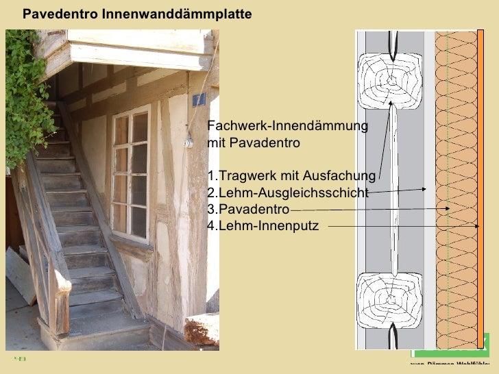 Vortrag pavatex for Fachwerkkonstruktion grundlagen