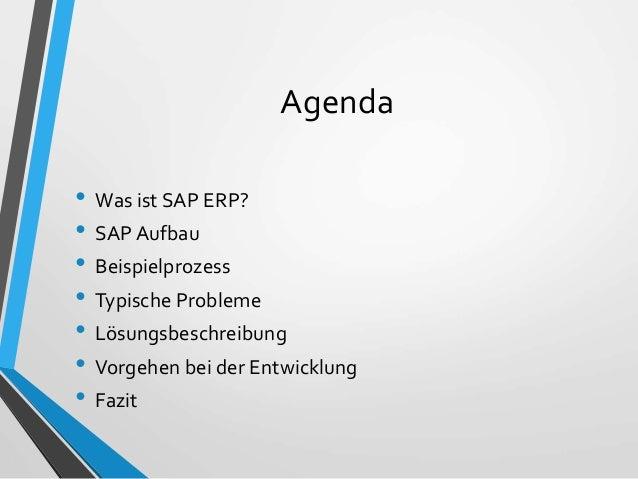 Steuerung für automatische Verbuchungsprozesse im SAP ERP Slide 2