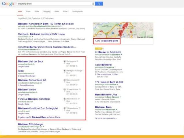 Bewertungen  Sorgt dafür, dass Eure Kunden Bewertungen über Euer  Unternehmen abgeben bei Google. Das stärkt das  Vertraue...