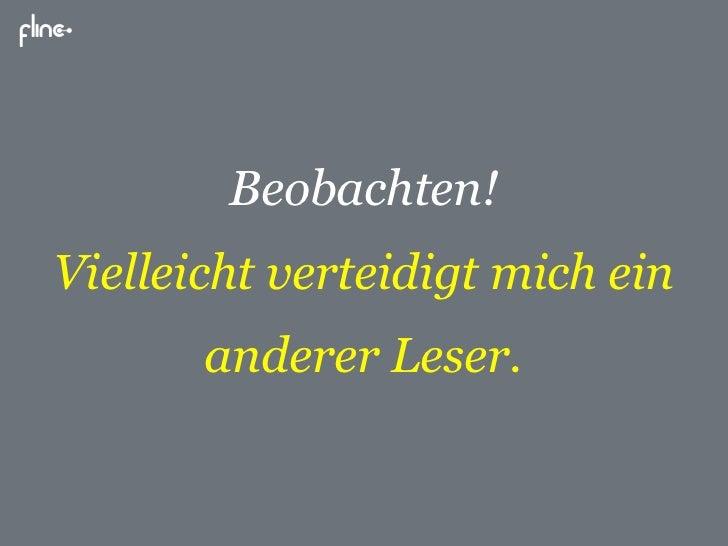 """""""Nutzer glücklich machen"""" - Vortrag auf der ersten 1. Social Media Night Karlsruhe - flinc"""