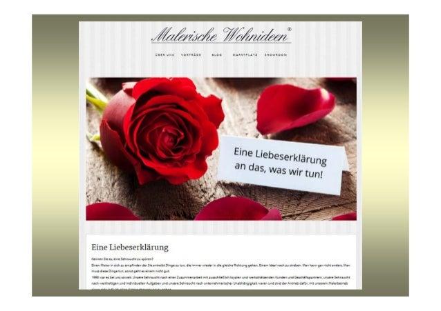 Malerische wohnideen online marketing bei einem kleinen handwerksbe - Malerische wohnideen ...