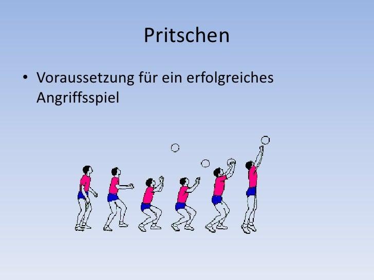 Vortrag volleyball