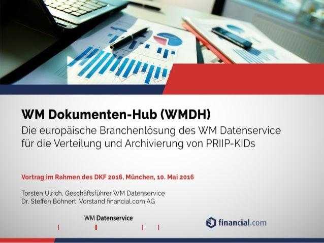 Der neue WM KID-Hub / The new WM KID Hub