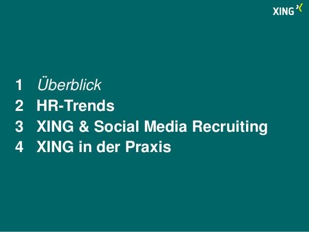 Vortrag XING auf der Zukunft Personal 2014 Slide 2