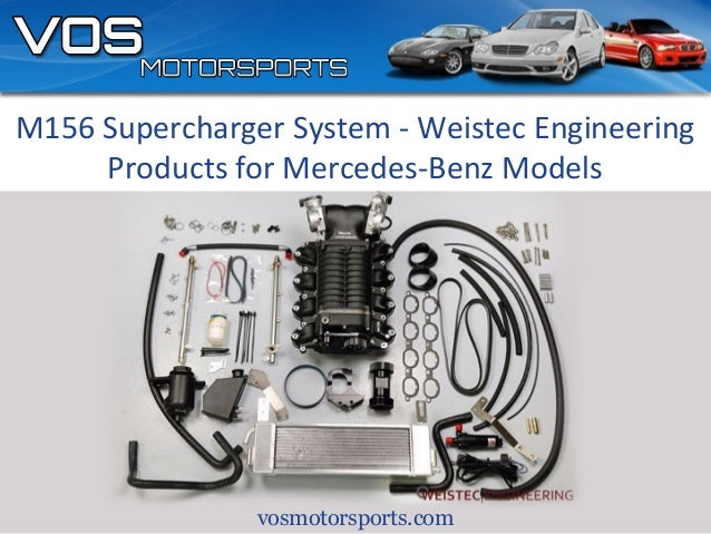 M156 Supercharger System - Weistec Engineering Products for