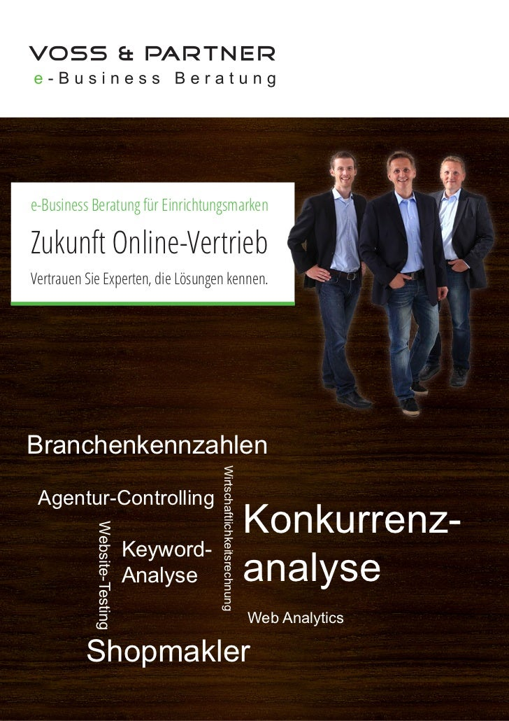 e-Business Beratung für EinrichtungsmarkenZukunft Online-VertriebVertrauen Sie Experten, die Lösungen kennen.Branchenkennz...