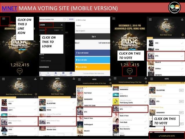 Mnet Vote