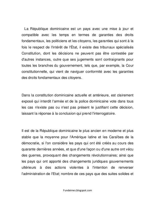 Fundeimes.blogspot.com La République dominicaine est un pays avec une mise à jour et compatible avec les temps en termes d...