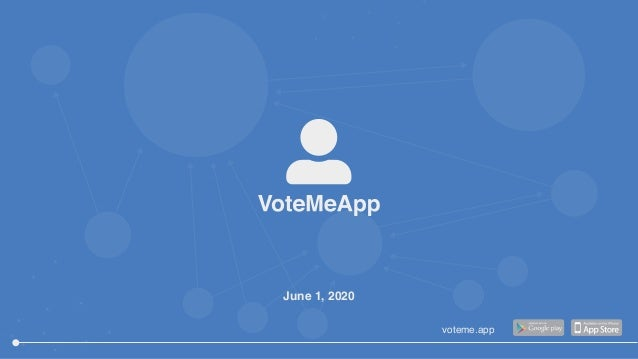 June 1, 2020 voteme.app