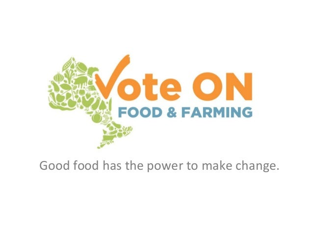Good food has the power to make change.