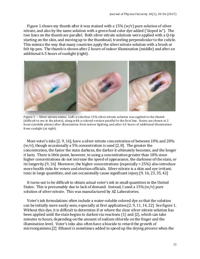 How To Remove Voters Ink