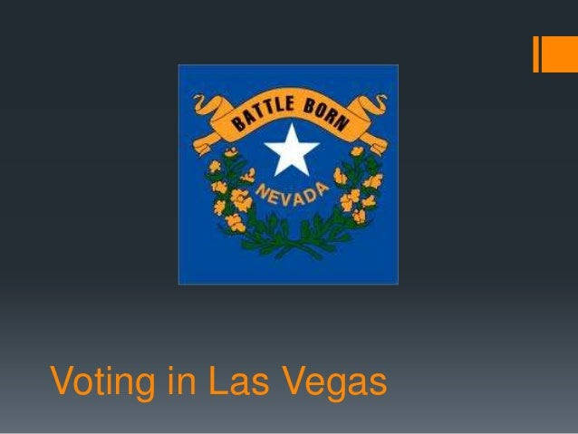 Voting in Las Vegas