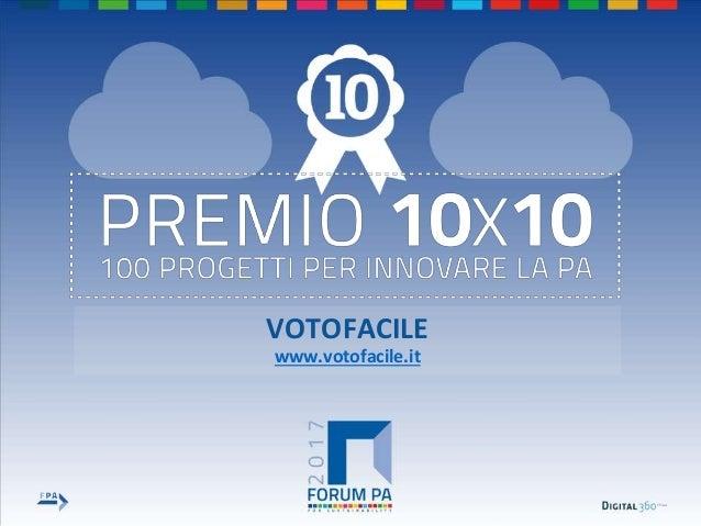 VOTOFACILE www.votofacile.it