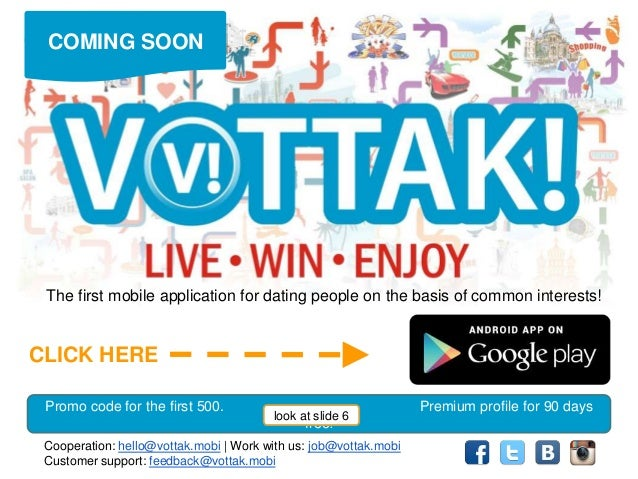vottak dating chat app live win enjoy