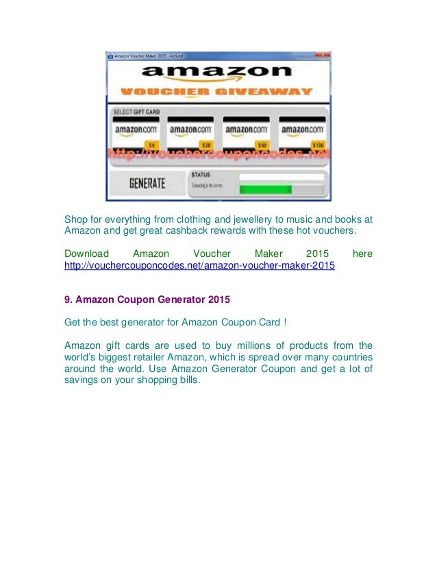 Shopping Online cheaper everyday with free Amazon, eBay, iTunes vouch…