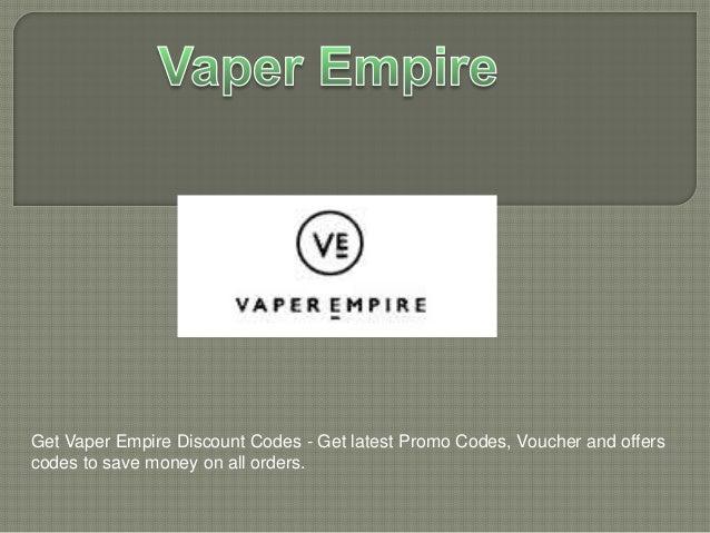 Vaper empire discount coupons