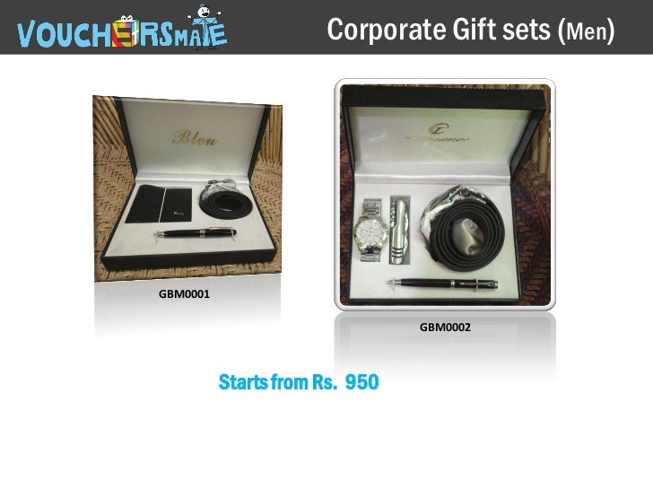 Corporate Gift sets (Men)GBM0001 GBM0002 Starts from Rs. 950 ...