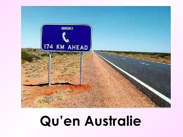 Qu'en Australie