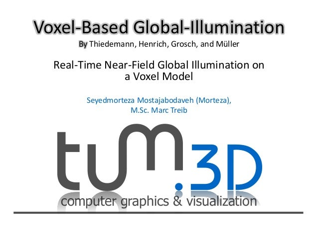 Voxel based global-illumination