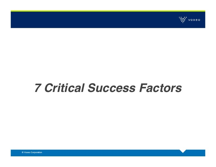 critical factors for successful six sigma Selecting successful six sigma projects  project selection and building organizational support through the project champion or sponsor are two critical factors in .
