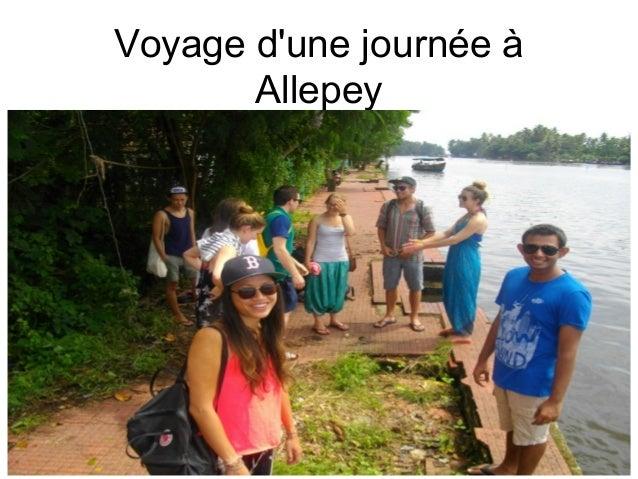 Voyage d'une journée à Allepey
