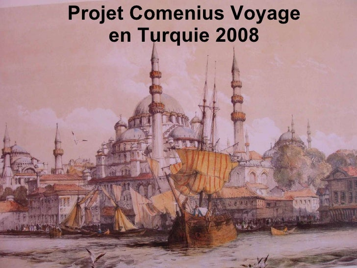 Projet Comenius Voyage en Turquie 2008