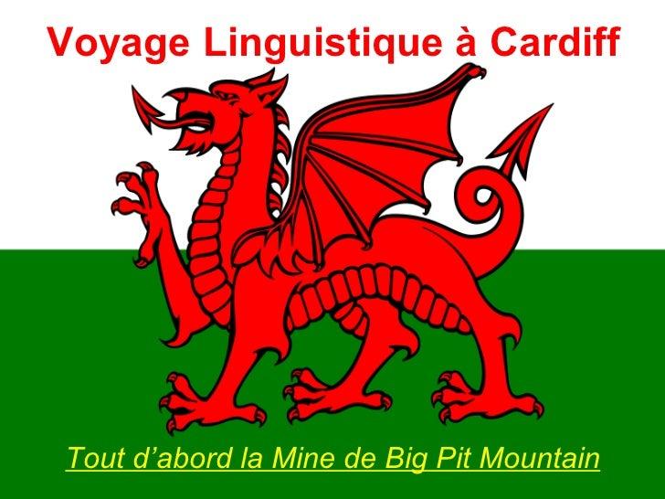 Voyage Linguistique à Cardiff <ul><li>Tout d'abord la Mine de Big Pit Mountain </li></ul>
