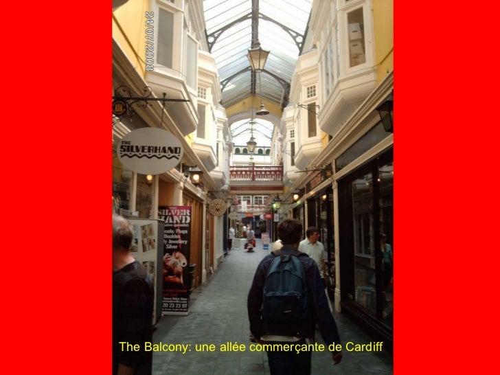 The Balcony: une allée commerçante de Cardiff