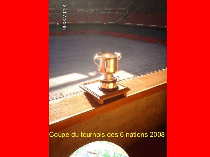 Coupe du tournois des 6 nations 2008