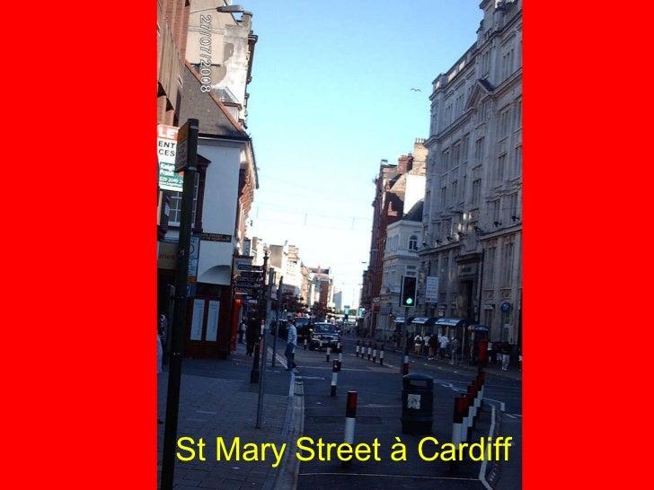 St Mary Street à Cardiff