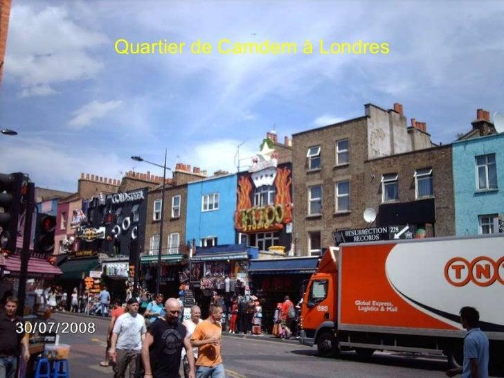 Quartier de Camdem à Londres