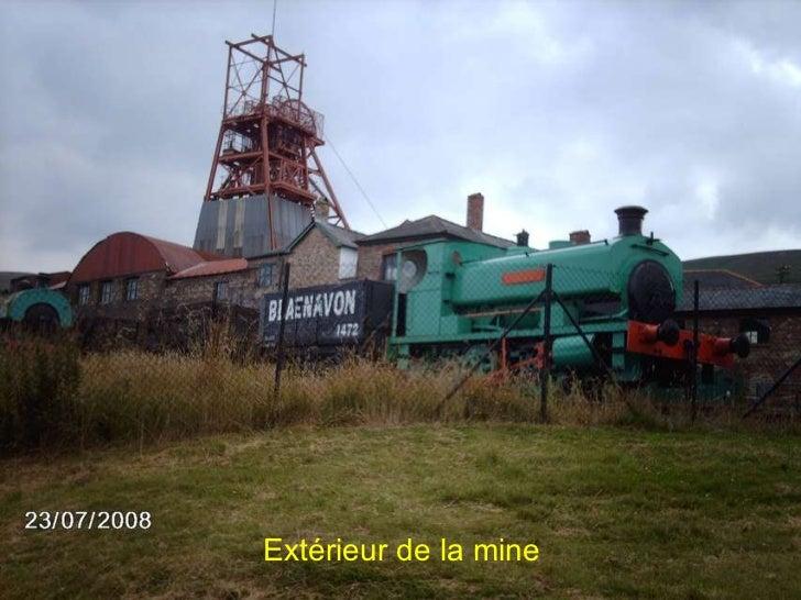 Extérieur de la mine