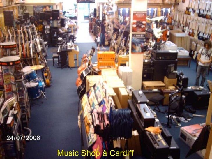 Music Shop à Cardiff