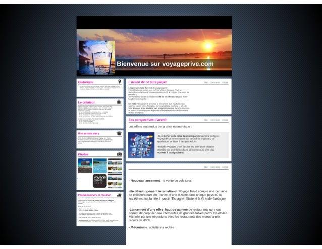 Voyageprive.com   historique, chiffres et évolutions  
