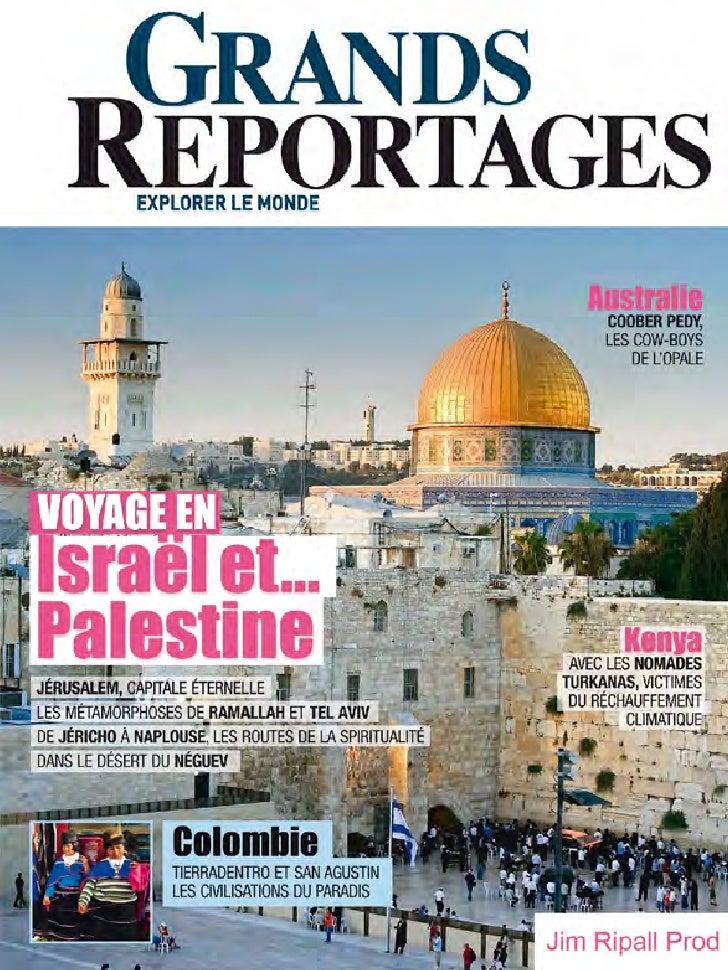 Voyage en palestine et israel