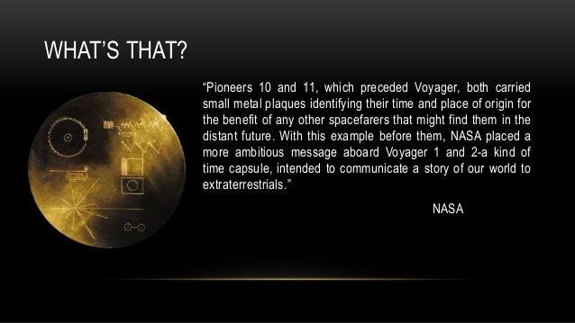 Voyager mission
