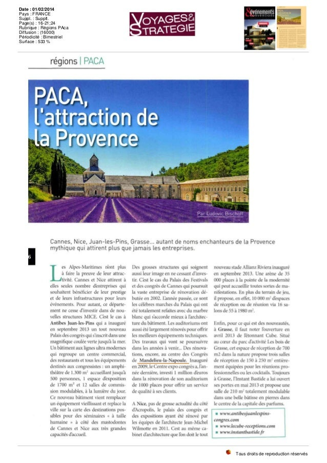 régions I PACA i Cannes, Nice, Juan-les-Pins, Grasse... autant de noms enchanteurs de la Provence mythique qui attirent pl...