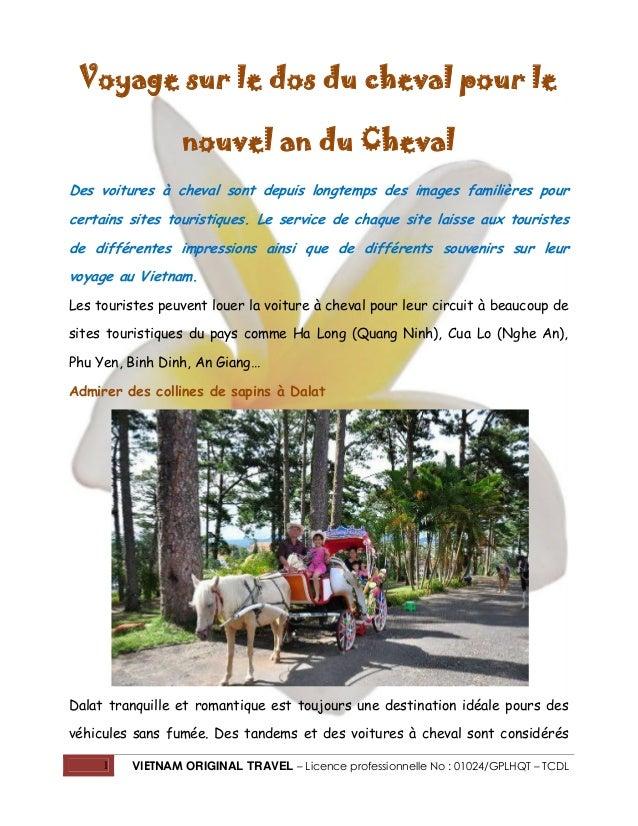 Voyage sur le dos du cheval pour le nouvel an du Cheval Des voitures à cheval sont depuis longtemps des images familières ...