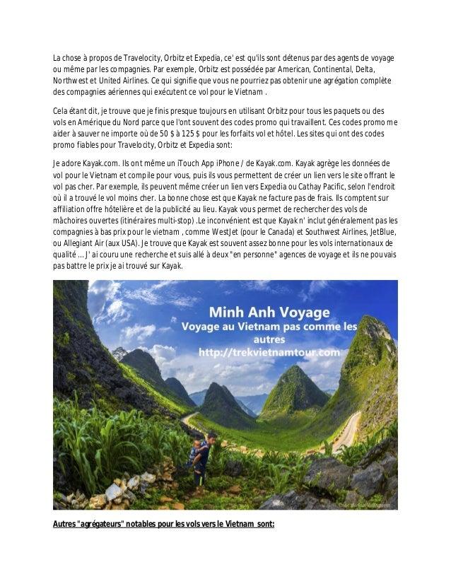 Voyage vietnam trucs pour payer pas chers les billets d'avion Slide 2