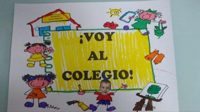 ¡VOY AL COLEGIO!