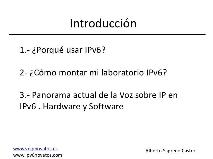 Voz ipv6 Slide 2