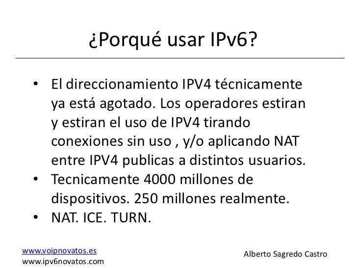Voz ipv6 Slide 3