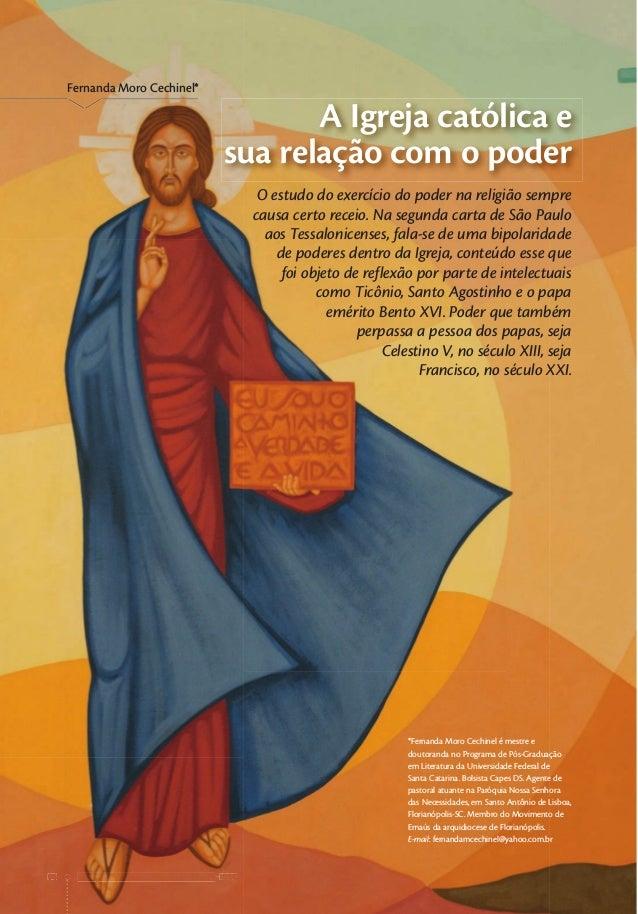 vidapastoral.com.br • ano 62 • no 338 14 vidapastoral.com.br • ano 62 • no 338 14 Fernanda Moro Cechinel* A Igreja católic...
