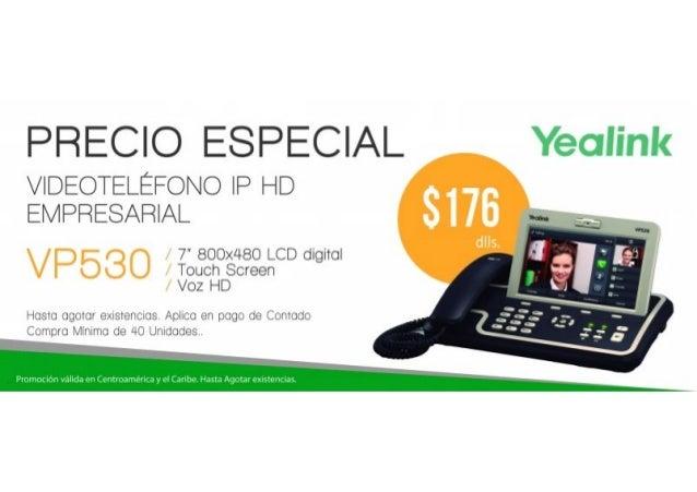 Promo VP530 Yealink en Centroamérica