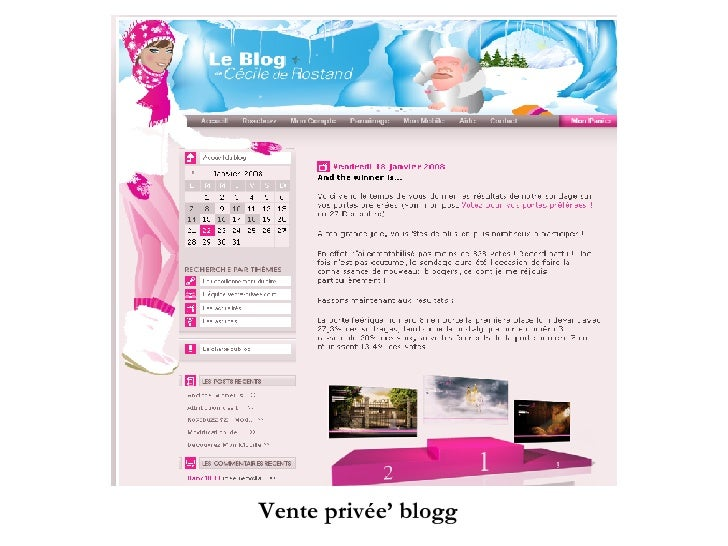 Vente privée' blogg