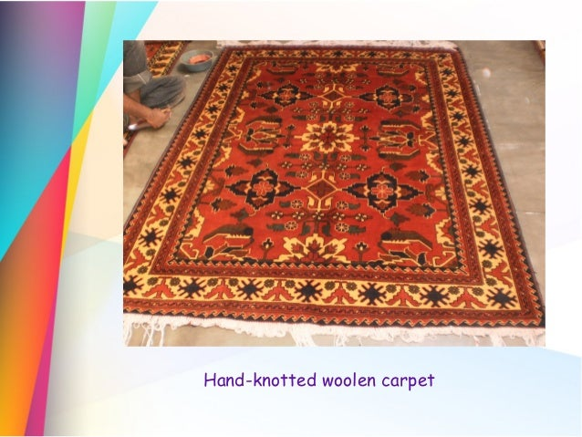 Carpet Weaving Industry Of India