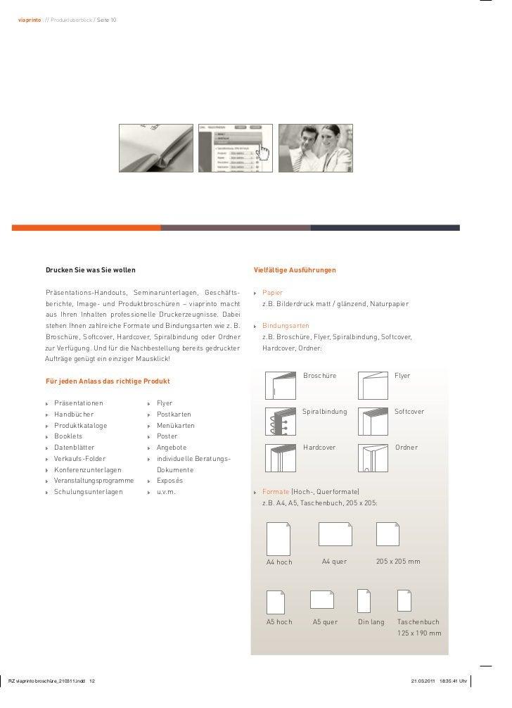 viaprinto : // Produktüberblick / Seite 10           Drucken Sie was Sie wollen                                     Vielfä...