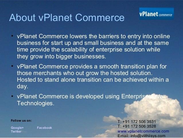 SaaS based E-commerce Platform Slide 2